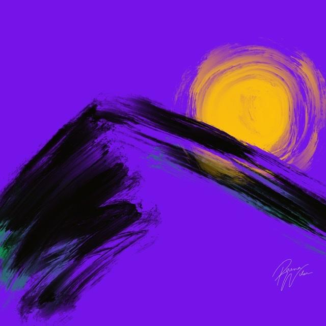 Sunrise, Digital Art by Raena Wilson